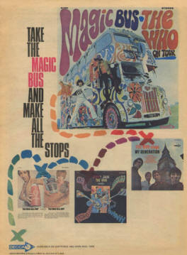 The Who - Magic Bus - 1968 USA