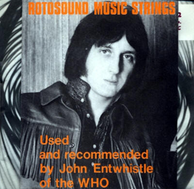 John Entwistle - Rotosound Strings 1969
