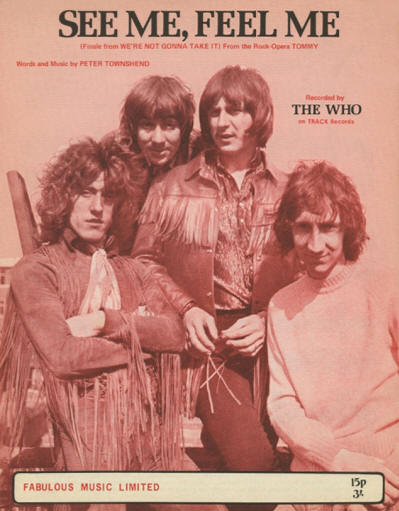 The Who - UK - See Me, Feel Me - 1970