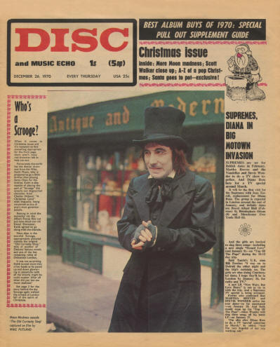 Keith Moon - UK - Disc and Music Echo - December 26, 1970
