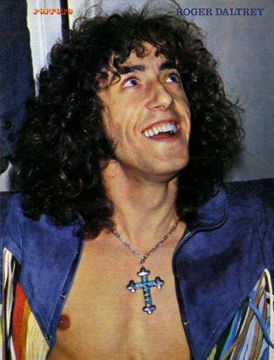 Roger Daltrey - Holland - Popfoto - 1971 (Back Cover)
