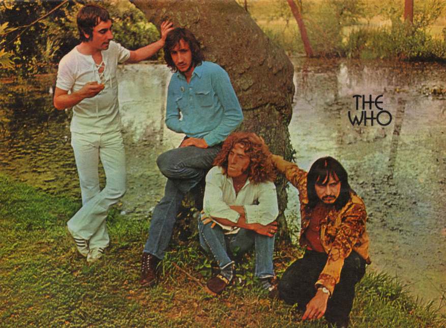 The Who - UK - Mirabelle - September 11, 1971 (Back Cover)