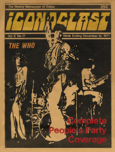 The Who - USA - Iconoclast - December 10, 1971