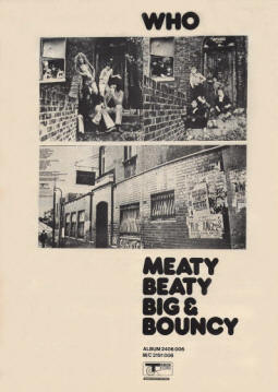 The Who - Meaty Beaty Big & Bouncy - 1971 UK