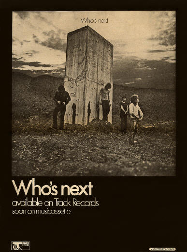 The Who - Who's Next - 1971 UK