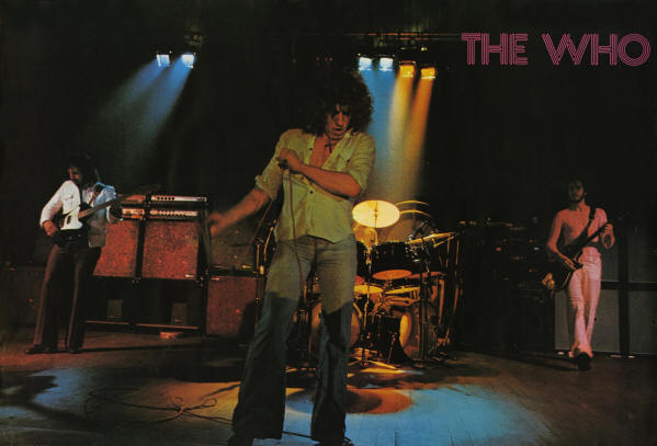 The Who - 1972 UK