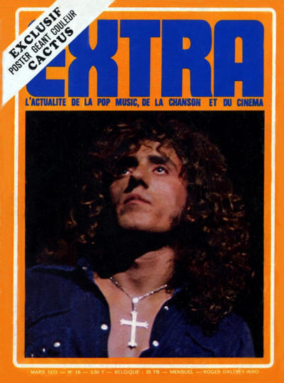 Roger Daltrey - France - Extra - March, 1972