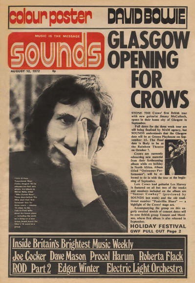 Pete Townshend - UK - Sounds - August 12, 1972
