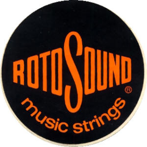 RotoSound Strings - 1972 UK Patch