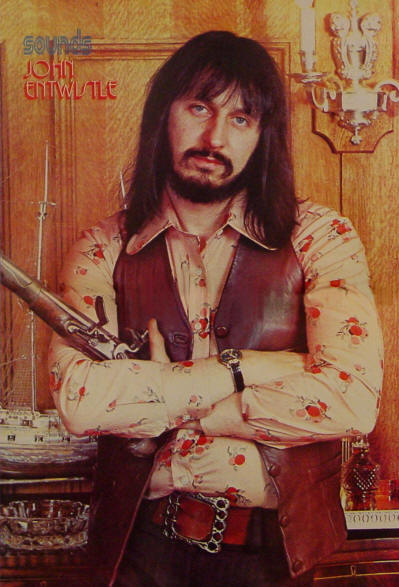 John Entwistle - 1973 UK
