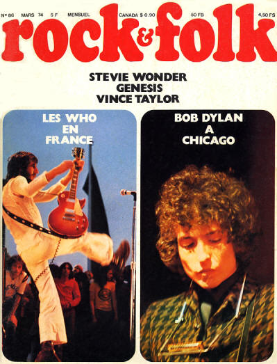 The Who - France - Rock & Folk - March, 1974
