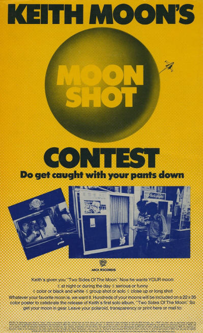 Keith Moon - Moon Shot - 1975 USA (Promo)