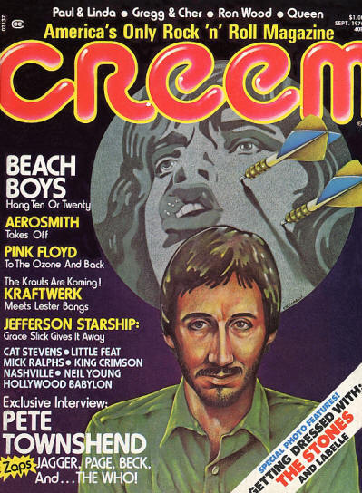 Pete Townshend - USA - Creem - September, 1975