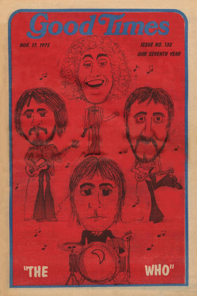The Who - USA - Good Times - November 17, 1975