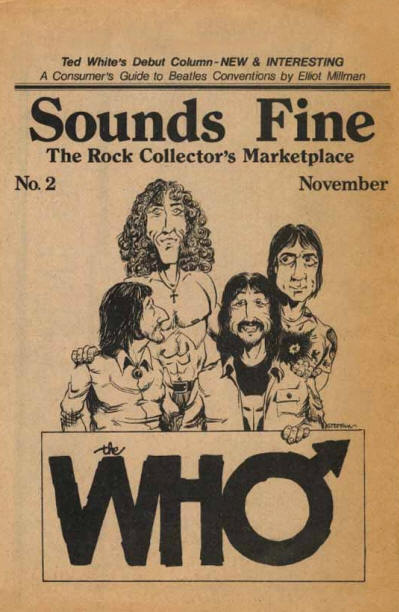 The Who - USA - Sounds Fine - November, 1975