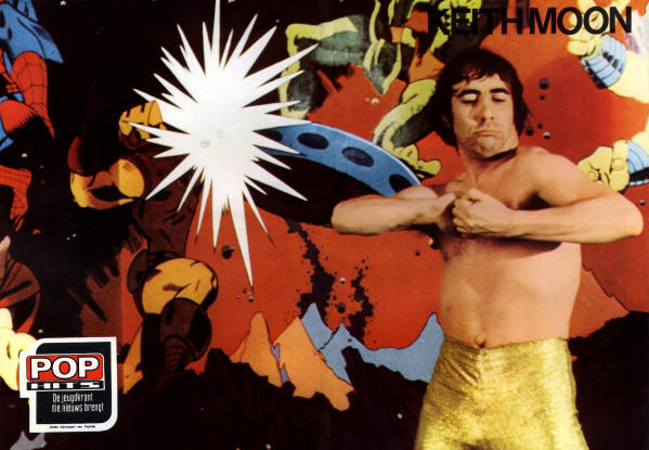 Keith Moon - 1975 Holland