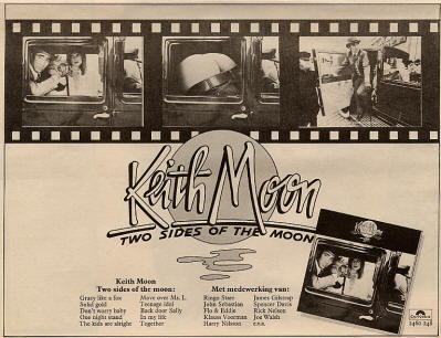 Keith Moon - Two Sides Of The Moon - 1975 Holland