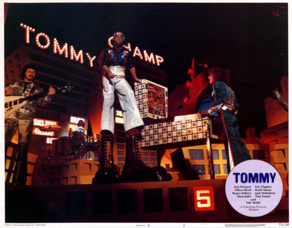 The Who - Tommy Lobby Cards - 1975 USA