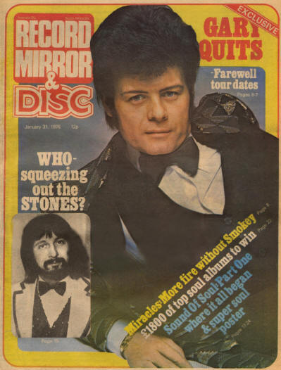 The Who - Record Mirror & Disc - UK - January 31, 1976