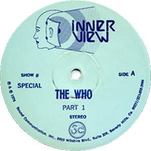 The Who - Inter View - 1976 USA Radio Show