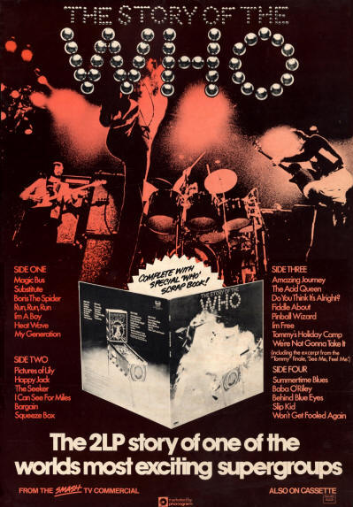 The Story Of The Who - 1976 New Zealand (Promo)