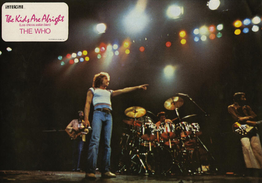 The Who - The Kids Are Alright - 1979 Spain Lobby Cards
