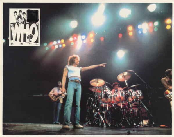 The Who - The Kids Are Alright - Lobby Card - 1979