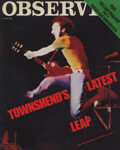 The Who - UK - Observer - July 8, 1979