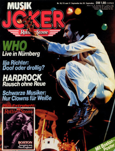The Who - Germany - Musik Joker - September 30, 1979