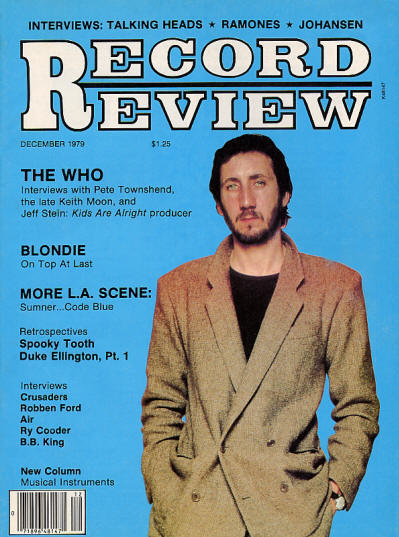 The Who - USA - Record Review - December, 1979