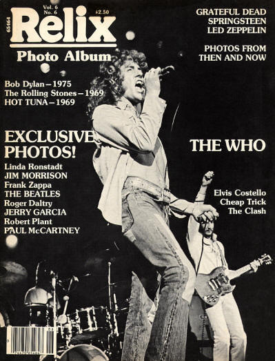 The Who - USA - Relix - December, 1979