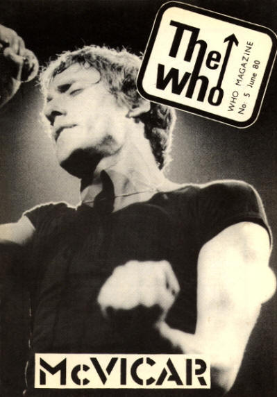 The Who - UK - The Who Magazine #5 - June, 1980
