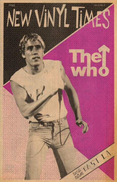 The Who - USA - New Vinyl Times - March, 1981