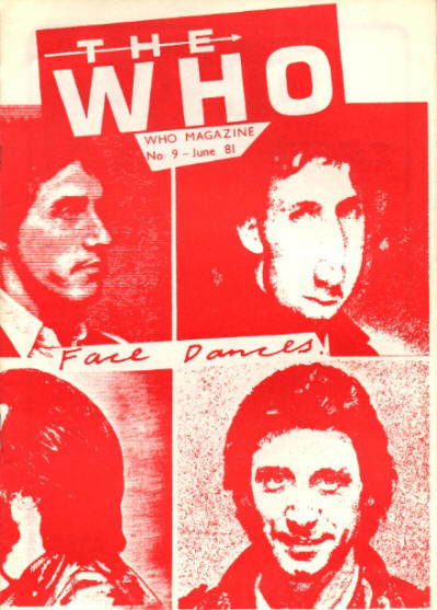 The Who - UK - The Who Magazine #9 - June, 1981
