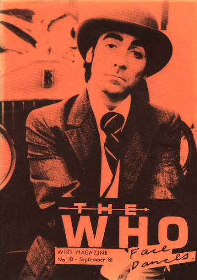 The Who - UK - The Who Magazine #10 - September, 1981