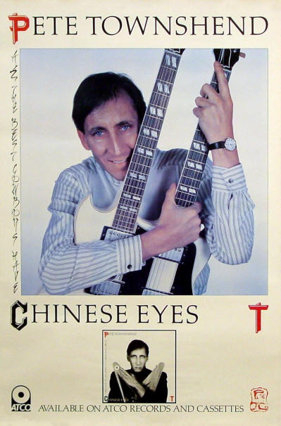 All The Best Cowboys Have Chinese Eyes - 1982 USA - Pete Townshend (Promo)