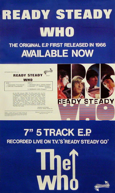 The Who - Ready Steady Who - 1983 UK (Promo)
