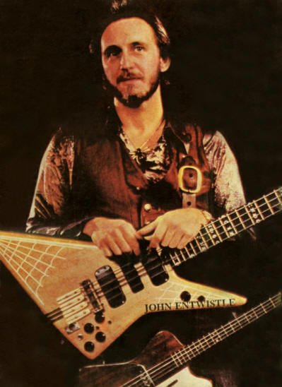 John Entwistle - Mexico - Conecte 1984 (Back Cover)