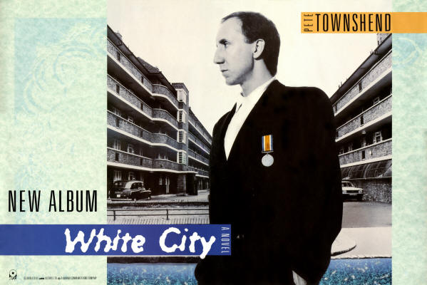 Pete Townshend - White City - 1985 UK (Promo)