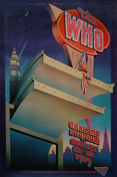 The Who - Oakland Stadium - August 29-30, 1989 USA
