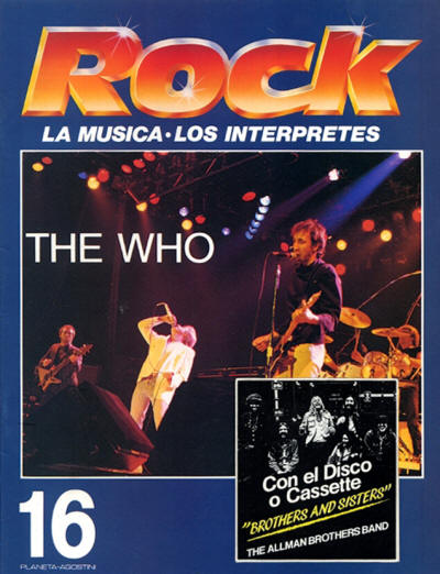 The Who - Spain - Rock - 1989