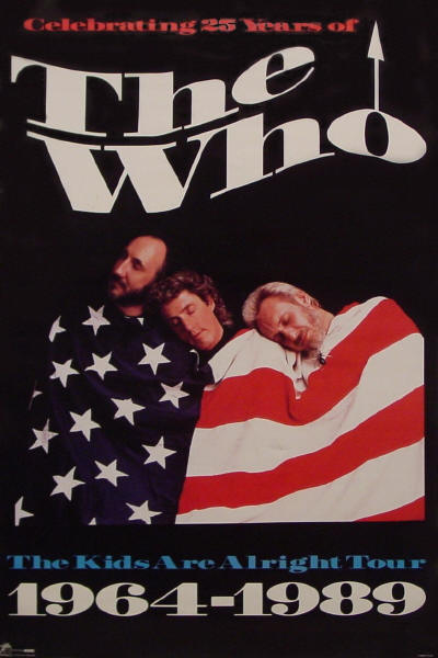 The Who - The Kids Are Alright Tour - 1989 USA (Promo)