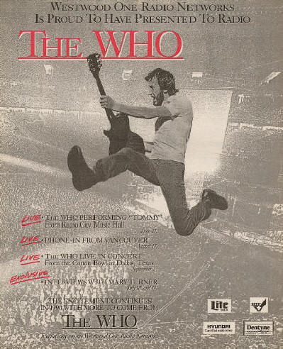 The Who - Westwood One - 1989 USA