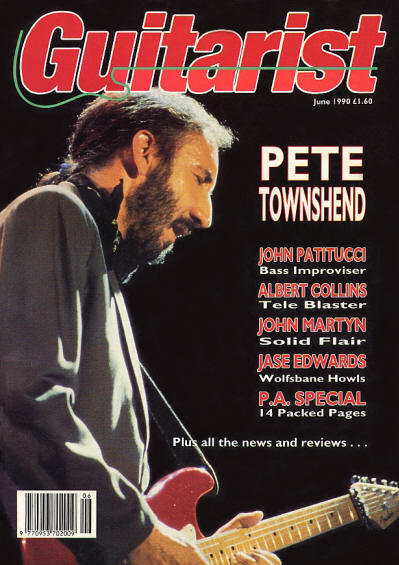 Pete Townshend - UK - Guitarist - June, 1990