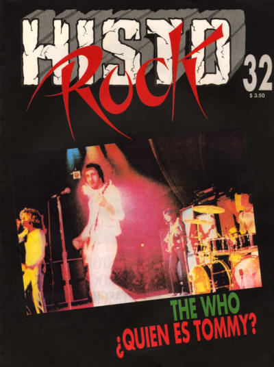 The Who - Argentina - Histo Rock 32 - 1991