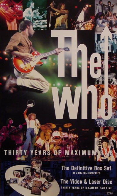 The Who - 30 Years Of Maximum R&B - 1994 USA (Promo)