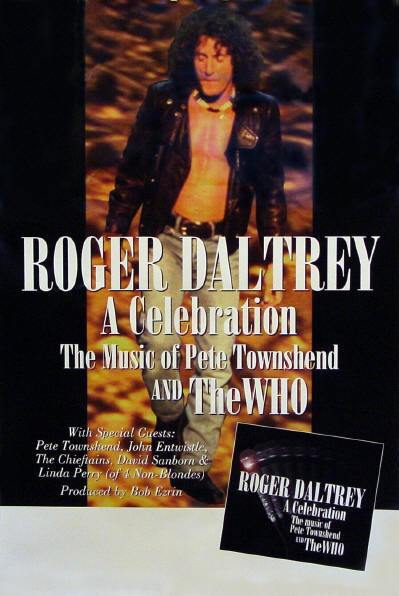Roger Daltrey - A Celebration: The Music of Pete Townshend And The Who - 1994 USA (Promo)