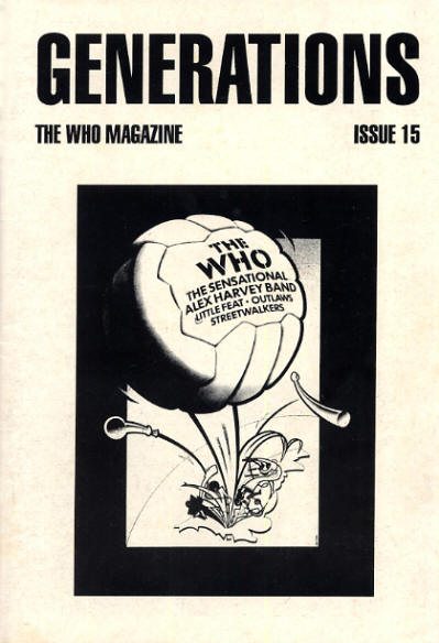 The Who - UK - Generations 15, April, 1996
