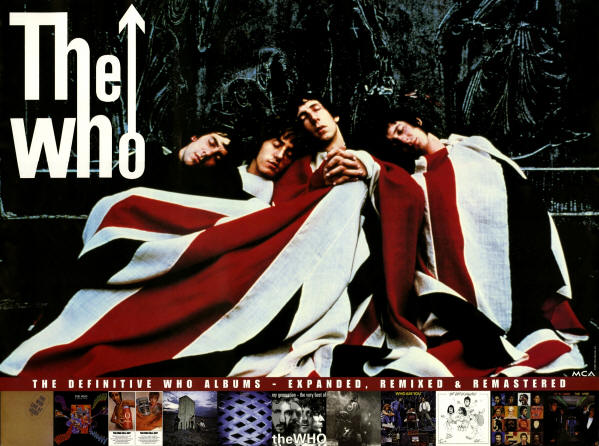 The Who - The Definitive Who Albums, Expanded, Remixed & Remastered - 1998 USA (Promo)