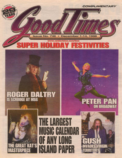 Roger Daltrey - USA - Good Times - December 1, 1998